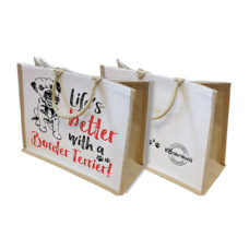 Small Border Terrier Canvas Bags