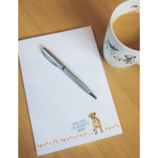 A5 Border Terrier Notepad