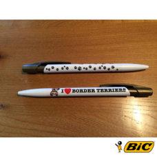 Border Terrier Bic Pens